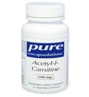 Acetyl-L-Carnitine (500mg) - 60 capsules