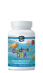 Children's DHA - Strawberry - 180 capsules