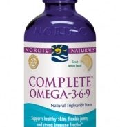 Complete Formula Omega (3-6-9) - Lemon - 8oz liquid