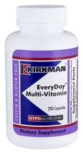 EveryDay Multi-Vitamin - Hypoallergenic  - 250 capsules