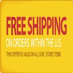 FREE SHIPPING ANYWHERE IN THE USA , INCLUDING PUERTO RICO , ALASKA , HAWAII , and to all APOs