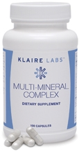 Multi-Mineral Complex (with iron) - 100 capsules