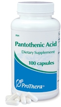 Pantothenic Acid (500mg) - 100 capsules