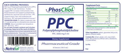 PhosChol Liquid Concentrate - 8oz Liquid - INGREDIENTS