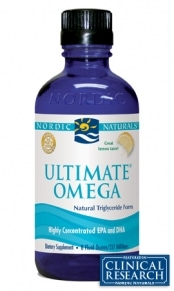 Ultimate Omega - Lemon - 8oz liquid