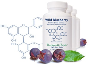 Wild Blueberry Freeze Dried Extract - 60 capsules