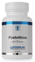 Pantethine 500 mg - 50 tablets