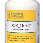 Co Q10 Power™ (400 mg softgel) - GMO-free/Soy-free