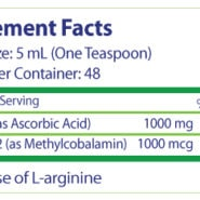 LipoZome-C - 8oz - INGREDIENTS