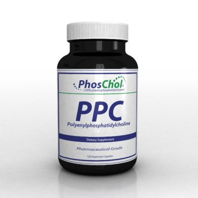 PhosChol (600mg Vegetable) - 120 capsules