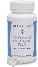 Chromium Picolinate Plus 100 capsules