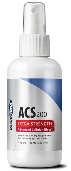 ACS 200 Silver Extra Strength - 4oz spray