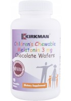 Children's Chewable Melatonin 3mg Chocolate Wafers - 90 wafers