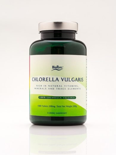 Chlorella Vulgaris - 1000 tablets