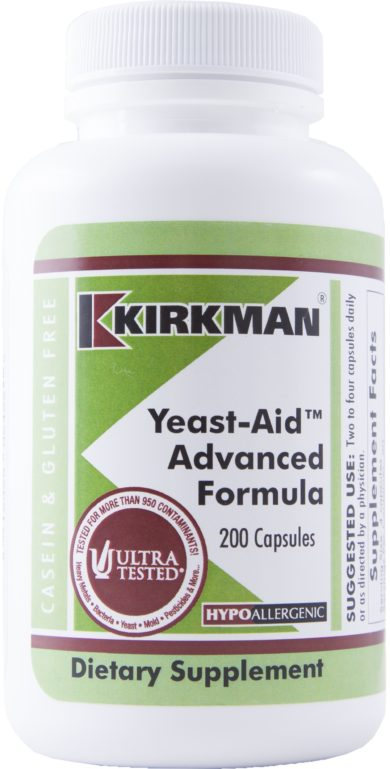 Yeast-Aid™ Advanced Formula - 200 capsules