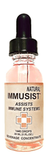 Immusist Natural - 1/2oz (720 drops)