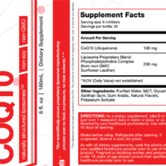 Liposomal COQ10 - 30 servings