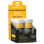 Effervescent Detox Lemon Charcoal Carton