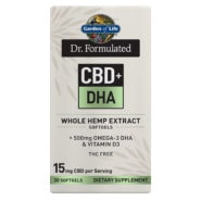 Dr. Formulated CBD+ DHA 15mg