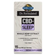 Dr. Formulated CBD+ Sleep 15mg