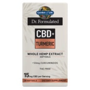 Dr. Formulated CBD+ Turmeric 15mg