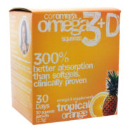 Omega-3 Squeeze Tropical Squeeze +D Packets