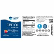 CBD Oil Tropical Flavor 600mg