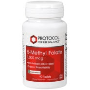 5-Methyl Folate 1,000mcg