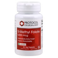 5-Methyl Folate 5000mcg