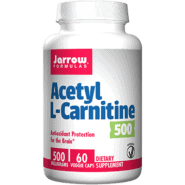 Acetyl L-Carnitine 500 mg 60 caps