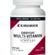 EveryDay Multi-Vitamin w:o Vitamins A & D - Hypoallergenic