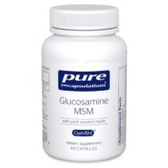 Glucosamine MSM w/joint comfort herbs