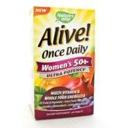 Alive! Once Daily Womens 50+ Multi (Ultra Potency)